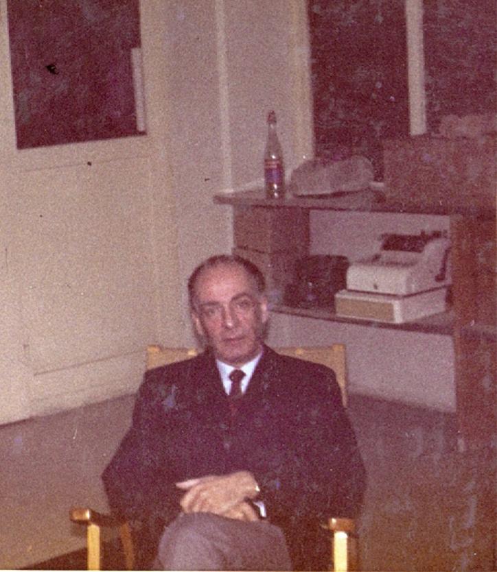 Karl MArti im Jahr 1971, Gründer der PREMA